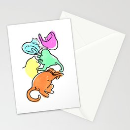 CAT BUTT Stationery Cards