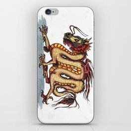 Draca sinensis (clean version) iPhone Skin