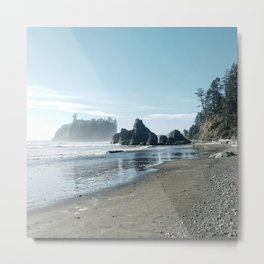 Washington state coast Metal Print