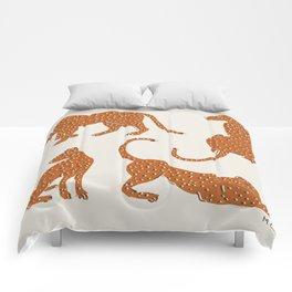 Leopard Block Party Comforters