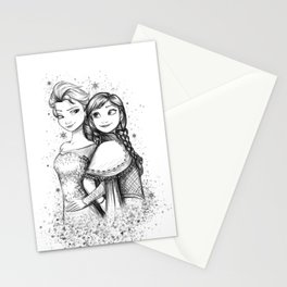 Do You Want To Build A Snowman Stationery Cards