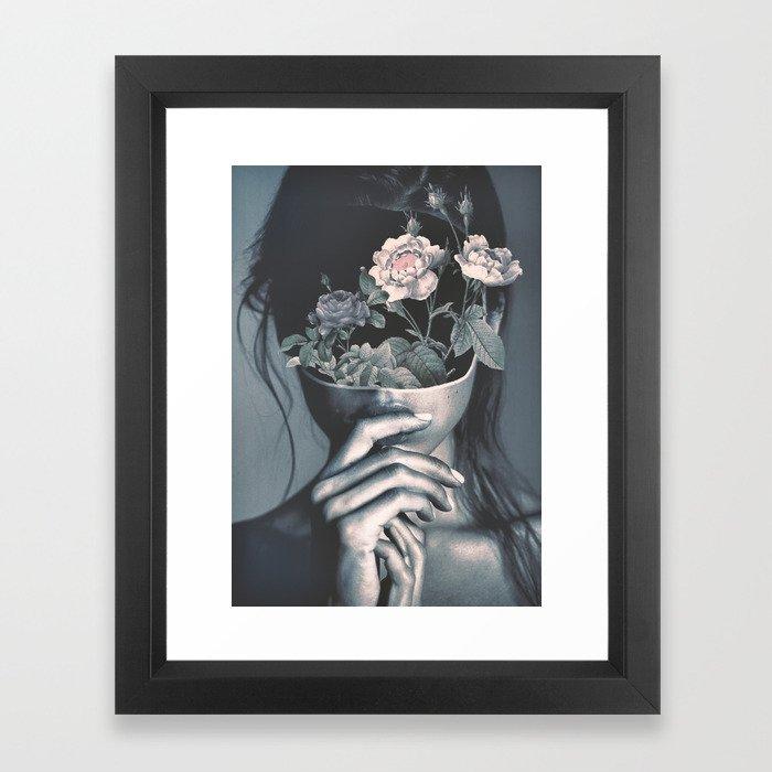 inner garden Framed Art Print