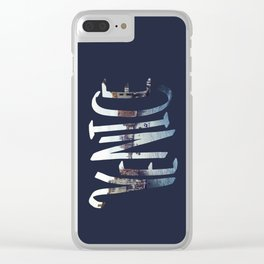 Venice Word Clear iPhone Case