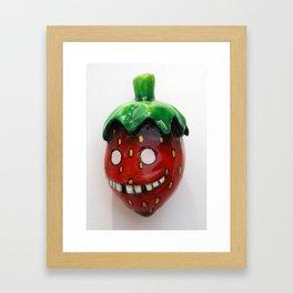 Youthful Strawberry Framed Art Print