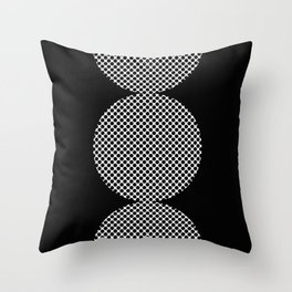 It could be a Semicolon...BUT...there is an additional dot. So it's more like a scorpion tail. Throw Pillow