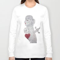 selfie Long Sleeve T-shirts featuring Selfie by Ina Spasova puzzle