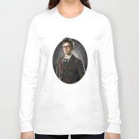 david tennant Long Sleeve T-shirts featuring David Tennant - Doctor Who 2 by KanaHyde
