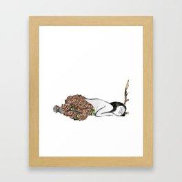 The Sleeping Centaur Framed Art Print