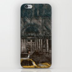 New York in the Rain iPhone & iPod Skin