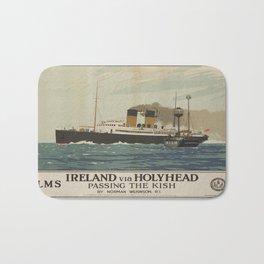 Vintage poster - Ireland Bath Mat