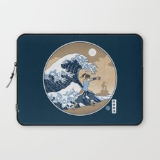 The Great Wave of Republic City Laptop Sleeve