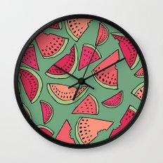 Watermelon Party Wall Clock