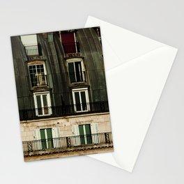 Parisian Windows. Stationery Cards