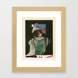 97 Framed Art Print