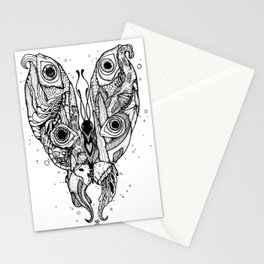 my sea butterfly Stationery Cards