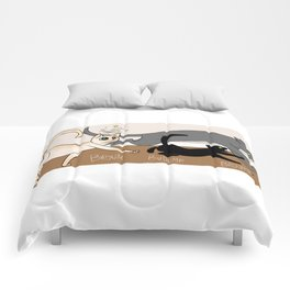 Furred Frenzy - Cat Rampage Comforters