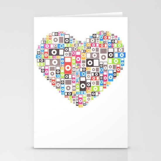 I love Ipod Stationery Cards