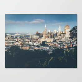 Views - San Francisco Canvas Print