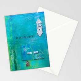 Knockin on Heavens Door Stationery Cards