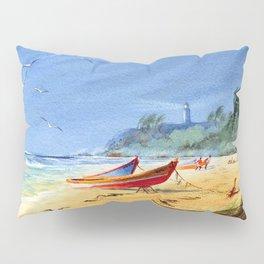 Puerto Rico Beach Pillow Sham