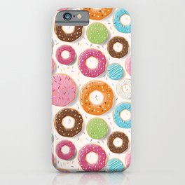 Mmmm Donuts iPhone Case