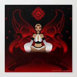 Inner Light: Base Chakra Canvas Print