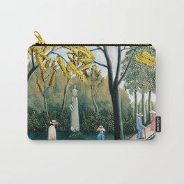 The Luxembourg Gardens and Monument to Chopin, Paris Landscape by Henri Rousseau Carry-All Pouch