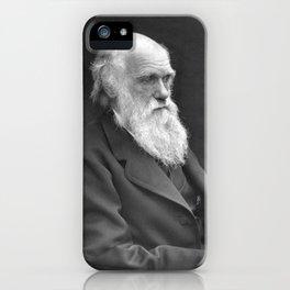 Charles Darwin Portrait - 1874 iPhone Case