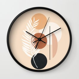 Minimal Shapes No.64 Wall Clock