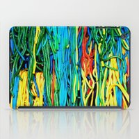 anxiety iPad Cases featuring Anxiety by Yolanda's Prints