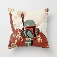 The Bounty And The Smuggler Throw Pillow