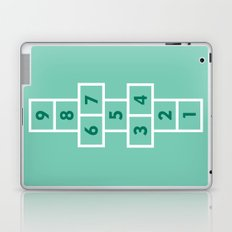 Hopscotch Mint Laptop & iPad Skin