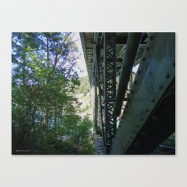 Two Worlds of Deception Pass Canvas Print