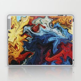 Night's Bright Colors - Color Liquid in Water Laptop & iPad Skin
