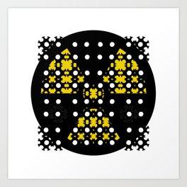 Mon&Nuclear Art Print