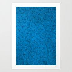 Octopusttern Art Print