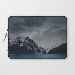 Lake Louise Winter Landscape Laptop Sleeve