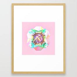 Isola beauty Framed Art Print