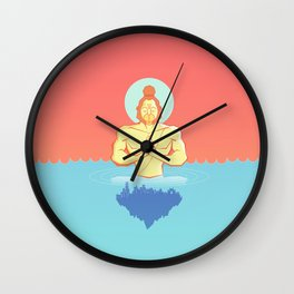 Hanuman Ji : Early morning Meditation  Wall Clock