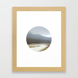 IMAGE: N°9 Circle Framed Art Print