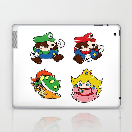 Bubble Mario Laptop & iPad Skin