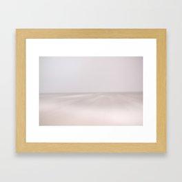 Atlantic in Winter Framed Art Print
