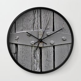The Cover Up Wall Clock