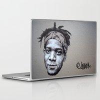 basquiat Laptop & iPad Skins featuring J.MICHEL BASQUIAT by Jahwan by JAHWAN