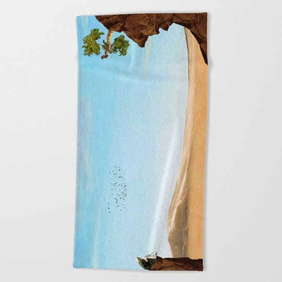 The Old Man Beach Towel