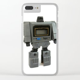 Wrist Watch Robot Clear iPhone Case