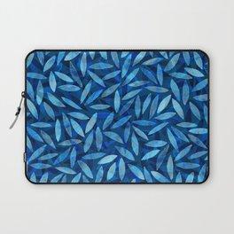 Indigo Botanical Pattern Laptop Sleeve