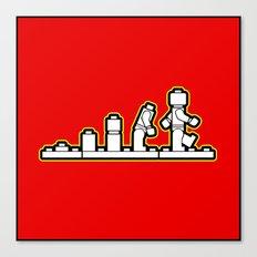 Lego Evolution  Canvas Print