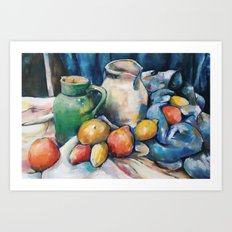 Still not Cézanne Art Print
