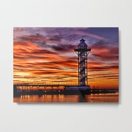 Bicenntenial Tower at Sunset Metal Print